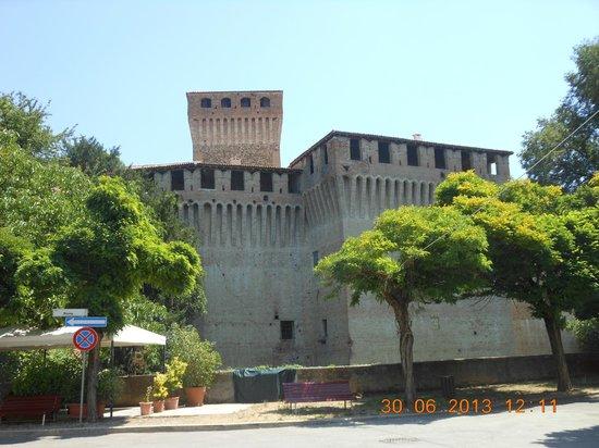 Montechiarugolo, Italien: esterno castello