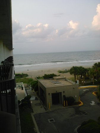 Jonathan Harbour: view from balcony! Beautiful.