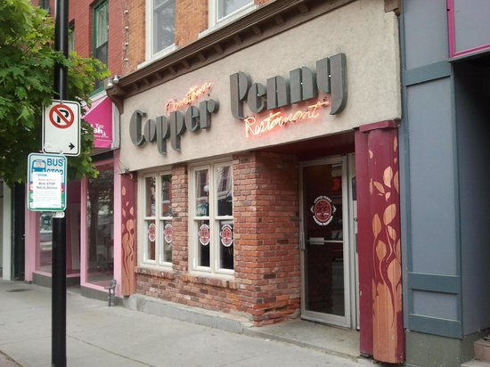 Copper Penny, downtown Kingston