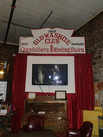 The Washoe Club Haunted Museum: Musuem television