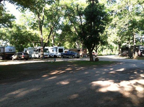 Park Ridge RV Campground: shady
