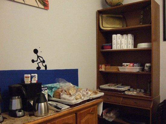 Pension San Martin: Voorverpakt ontbijt