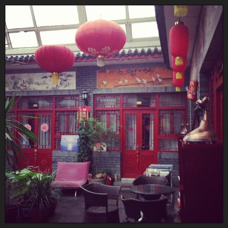 Tiananmen Best Year Courtyard Hotel: Common area