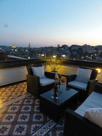 MySuite Istanbul : Piya's terrace View