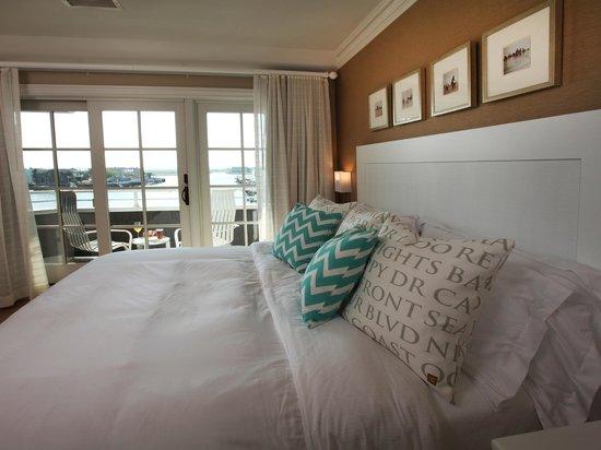 The Reeds at Shelter Haven: Skye Suite Bedroom