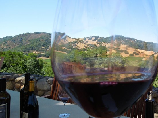 Squire Livery Tours: Napa through a great Cabernet.