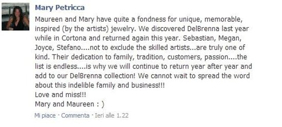 DelBrenna Jewelry: A fondness for...