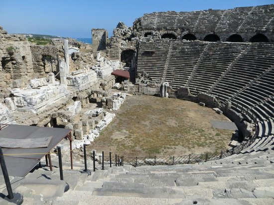 Theatre view - Picture of Greek Amphitheater, Side ...