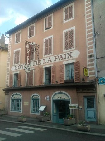 Hôtel - Restaurant de la Paix : Hotel de la Paix
