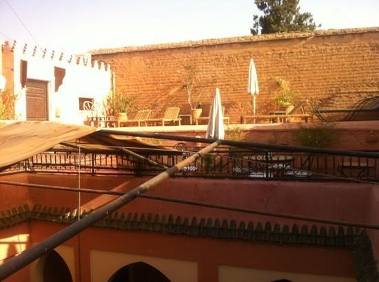 Cala Medina : terrasse