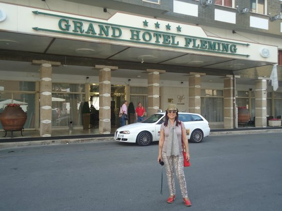 Grand Hotel Fleming: La fachada