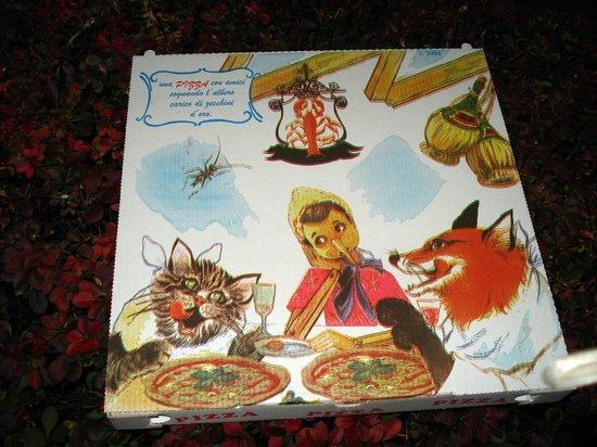Ristorante Pizzeria Don Lisander: pizza boz