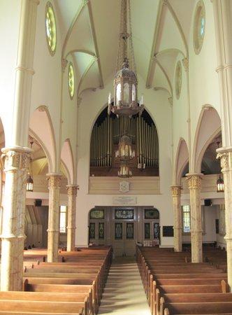 Mickve Israel Temple : Sanctuary Mickve Israel