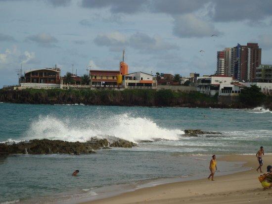 Marina Travel Praia Hotel : Vista da Praia próximo ao Hotel