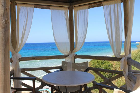 Porta del Mar Beach Hotel : беседка для релакса