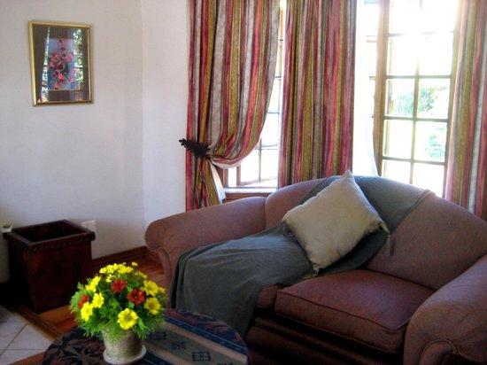 Lone Creek River Lodge: Wohnbereich im Zimmer