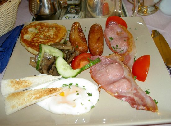 Ben View House: Irish Breakfast