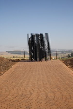 Howick, Южная Африка: Mandela Denkmal - wir waren berührt!