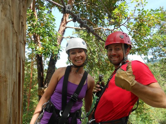 Rogue Valley ZipLine Adventure: Guide extraordinaire... Steve Carlino!