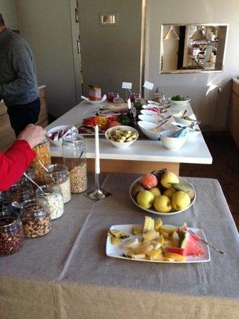 Hotel Brosundet: Frühstücksbuffet
