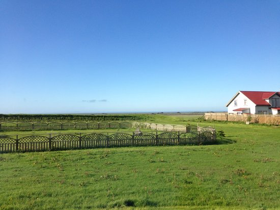 Grand Guesthouse Gardakot: View of the owner's farm from our room