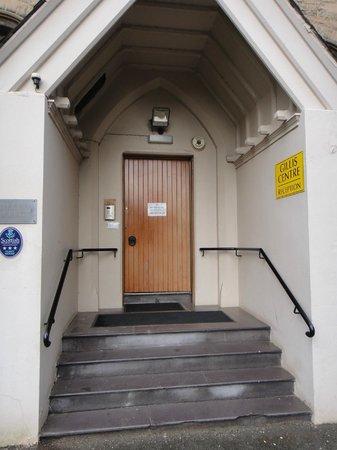 Gillis Centre: The front door