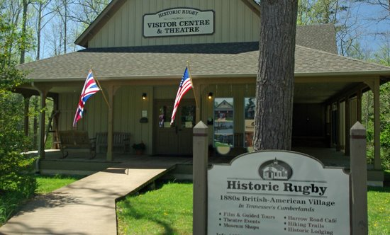 Rugby, TN: The Visitor Center is a good place to start.