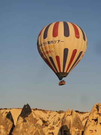 Valleypark Hotel : Ballon über dem Haus