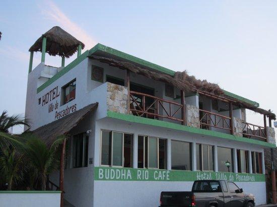Hotel Villa de Pescadores : Hotel von außen