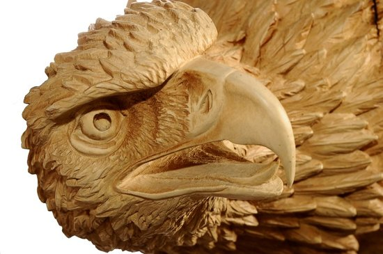 Brienz, Zwitserland: Wood Carving; Eagle