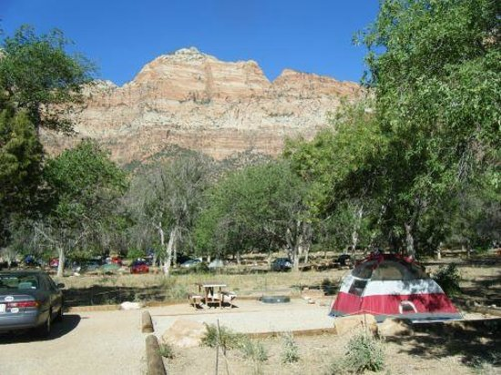 ‪‪Watchman Campground‬: Our site‬