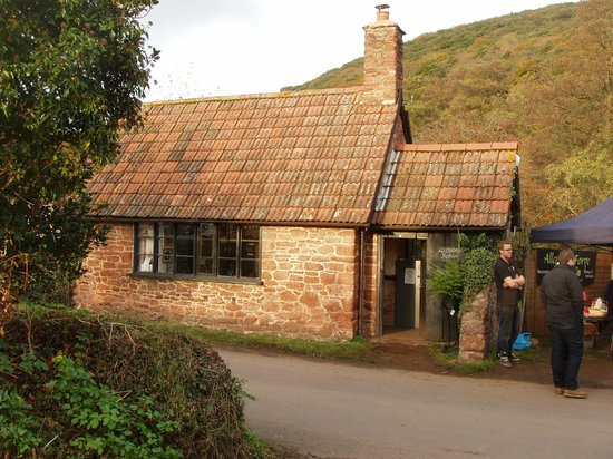 West Country Blacksmiths at Allerford Forge: Allerford Forge Shop