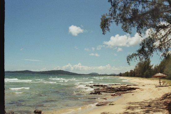 Bo Resort: Beach in front of resort