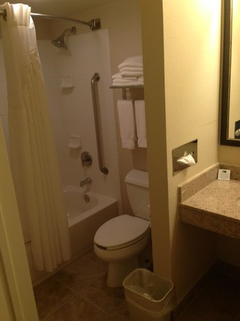 Wingate by Wyndham Atlantic City West: Nice, clean bathroom