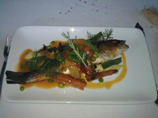 Restaurant Les Pins: Plat