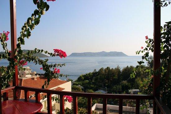 Kas Antiphellos Otel : odanın manzarası