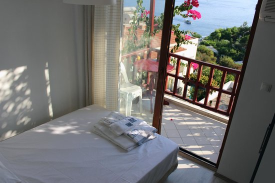 Kas Antiphellos Otel : oda manzarası