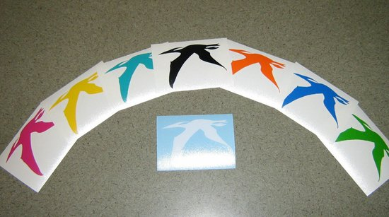 Pearl Street Bagels: Take a free pteranodon decal home with you to remember us by!