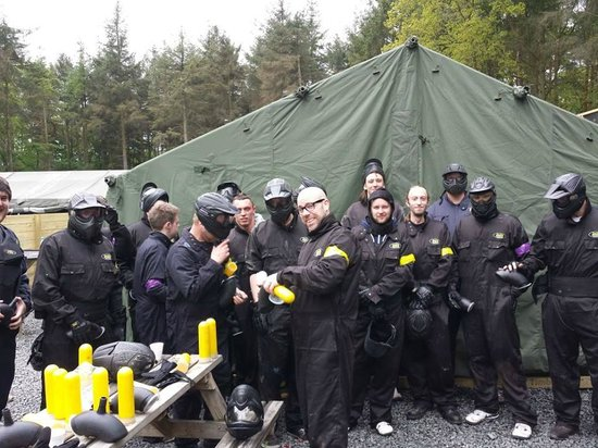 Delta Force Paintball: All Geared Up
