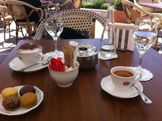 InterContinental Carlton Cannes : A nice cup of coffee