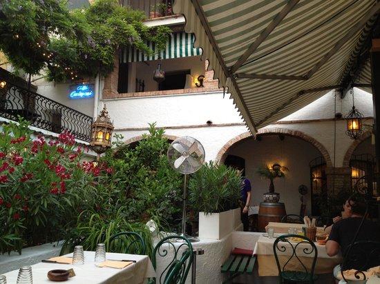 Ristorante El Patio: fraaie bloemen en planten