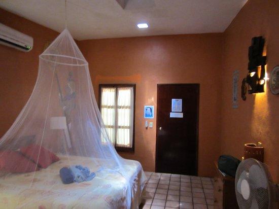 """Hotel Macanche Bed & Breakfast: Zimmer """"Maya"""" von innen"""