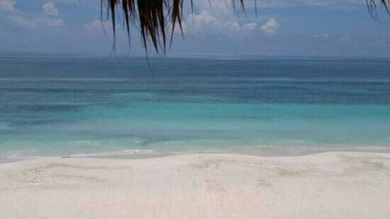 La Cocina de Corina : hermosa vista al mar caribe desde el restaurante