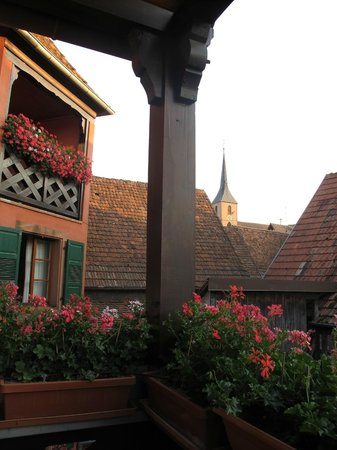 Hotel Winzenberg: view 1 from balcony