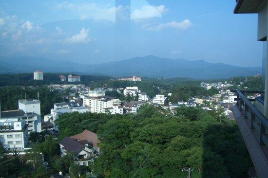 Hotel Sakurai: vista a las montañas