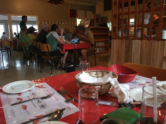 Baddeck Lobster Supper: the restaurant