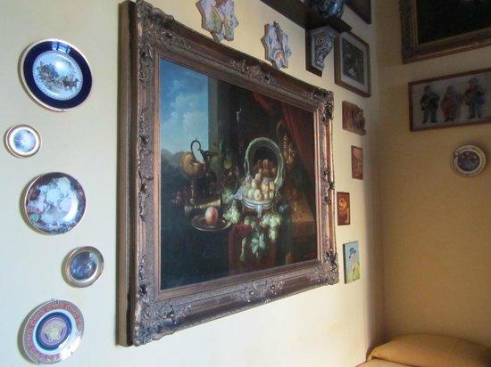 B&B Il Caravaggio : parete della camera