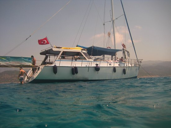 The Gulsah I - lovely boat, wonderful day! - Picture of Boat Trips by Captain...