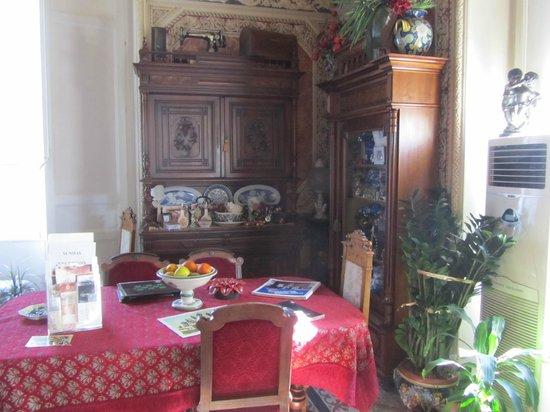 B&B Il Caravaggio : veduta del soggiorno