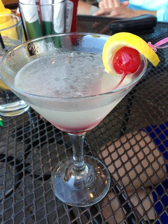 V.I. Grill: Leelanau Cherry Lemonade Martini!